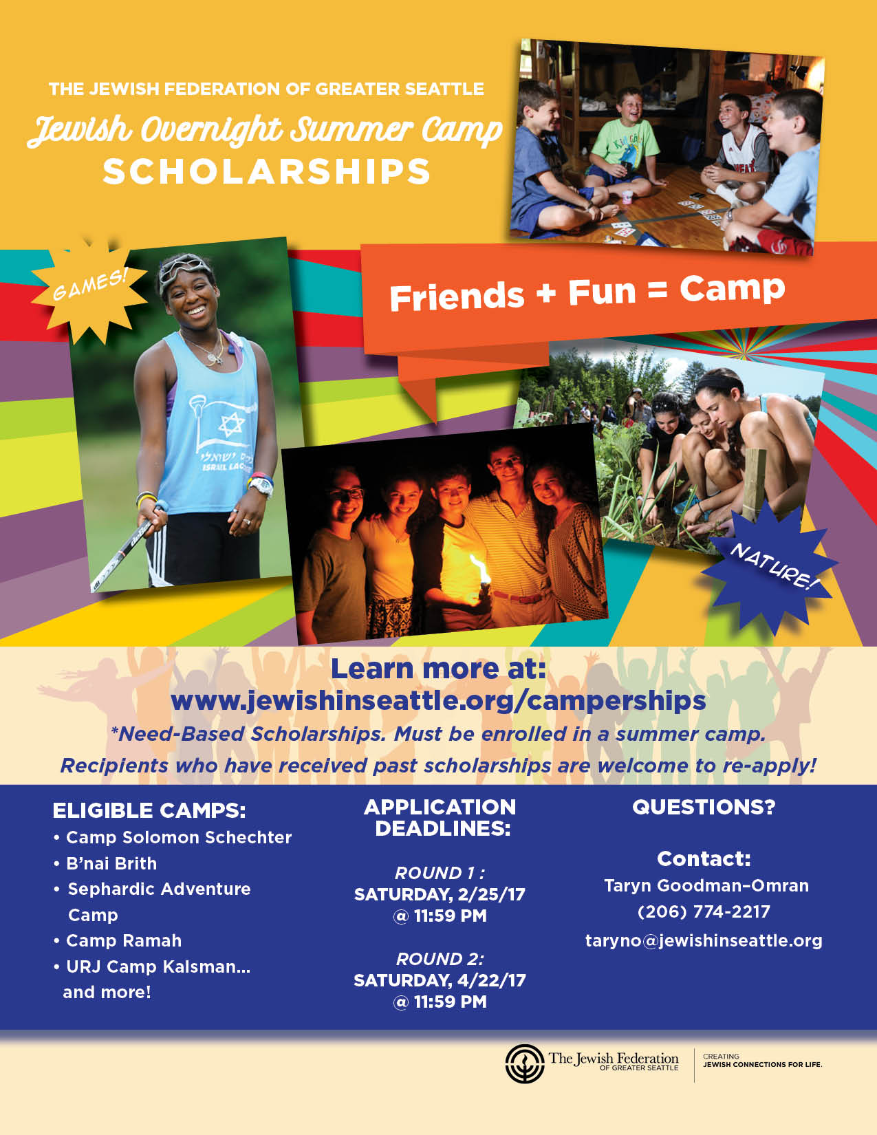 Scholarships Camp 2017