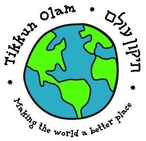 mitzvah day tikkun olam logo