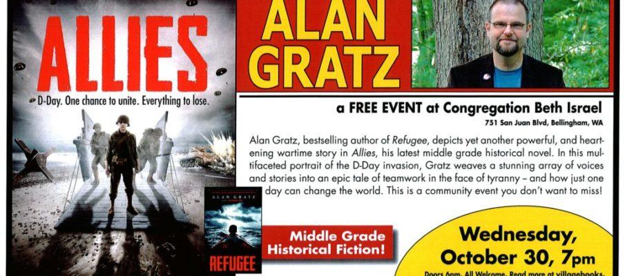 Alan Gratz event 10-30-19
