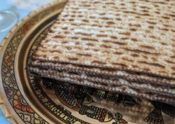 Images from a Passover seder.