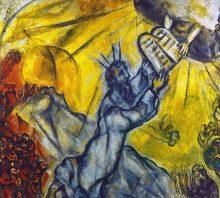 Moses-10 Commandments Chagall